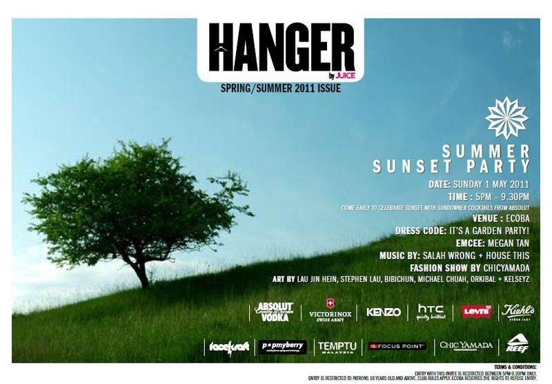 Hanger inv